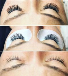 We love this before and after with these beautiful lashes!  . . . #lashextensions #eyelashextensions #beauty #makeup #beforeandafter