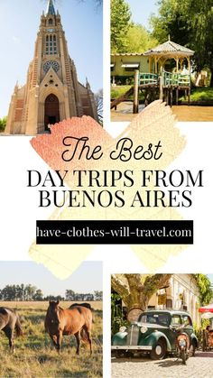 "8 Best Day Trips From Buenos Aires by Travel Experts | From enjoying quaint Uruguayan cities to experiencing authentic ""gaucho"" culture to boating along the Paraná Delta and more - there is no shortage of cool day trips to take from Buenos Aires. 