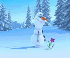Frozen Gif Olaf