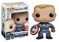 Preview of the Toronto Fan Expo Exclusive Unmasked Captain America Pop! Vinyl