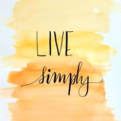Live a simple life and bring joy to others lives. What's that one simple thing today that brought smile to your face? #calligraphyindia #calligraphy #handlettering #brushlettering123 #calligraphyart #calligraphylove #watercoloring #watercolorist #motivati