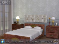 Sims 4 CC's - The Best: Bedroom Set by Amamatite
