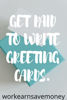 Earn Money From Home, Earn Money Online, Way To Make Money, Work Online Jobs, Work From Home Jobs, Greeting Card Companies, Greeting Cards, Card Writer, Job Help
