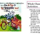 Integrated reading strategies and creating models. This lesson uses Science and the topic of Simple Machines. There is a whole class activity using...