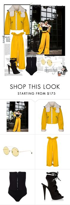 """Faulous in yellow"" by fl4u ❤ liked on Polyvore featuring Ahlem, Giuseppe Zanotti, Givenchy, GetTheLook, yellow and kendalljenner"