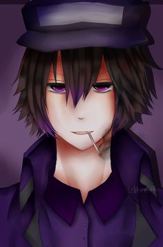 FNAF | Purple Guy by Kaijiiro.deviantart.com on @DeviantArt
