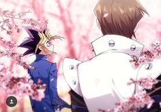 Seto and Yugi in Japan I Love Anime, Awesome Anime, Digimon, Naruto, Yugioh Yami, Yandere Anime, Destroyer Of Worlds, Dragon, Kids Cards