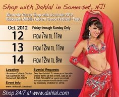 Dahlal will be at the Rakkasha Middle Eastern Dance Festival Oct. 12-14! We can't wait to see all of our #bellydance friends. http://www.dahlal.com/show-schedule/