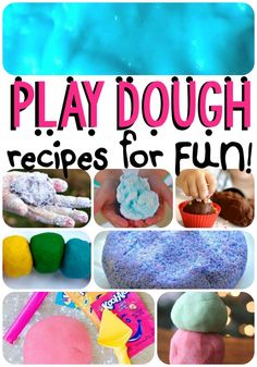 If you really want to keep your child busy this afternoon, try one of these play dough recipes for fun! There's a good reason kids love play dough- it's...