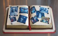 Scrapbook Birthday Cake