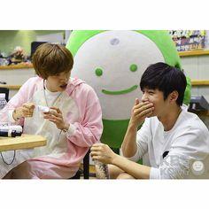 [Instagram] 150726 #인피니트 Dongwoo & L - KBS Radio Writer Park Jung Hee
