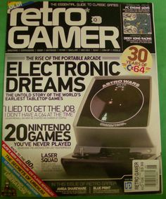 Retro Gamer Magazine Rise of the Portable Arcade Electronic Dreams C64 Issue 106