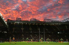 It's not just @manutd who play at Old Trafford - here, New Zealand take on Australia in the 2013 Rugby League World Cup final.