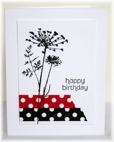 """Love this Stamp from the Inkadinkado Clear Stamps 4""""X8"""" Sheet-Meadow"""