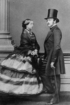 1861 Queen Victoria, who reigned from 1837-1901, was Queen Elizabeth II's great-great-grandmother. She was the first British sovereign to embrace photography as a means of making the royal brand accessible to the public, since the medium was introduced shortly after she ascended the throne. She and her husband, Prince Albert (pictured), became champions of the new art form.
