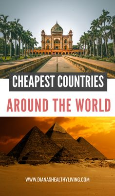 Are you looking for an affordable trip and looking for the cheapest country to visit? Here are the cheapest countries to visit in the world! These are affordable destinations that offer the most… Europe Destinations, Travel Couple, Family Travel, Travel Around The World, Around The Worlds, Countries To Visit, Travel Advice, Travel Tips, Travel Quotes