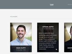 Omada About Page Revamp by Jared Erondu