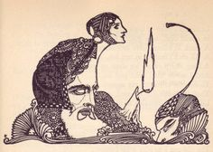 Harry Clarke Illustrations from Goethe's Faust, 1925 (1)