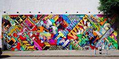 Street Art New York City Bowery Wall Coney Island LISA Project Keith Haring Banksy Os Gemeos Artwork Freedom Tunnel Dumbo Bushwick Collective First Street Green Cultural Park The Bronx Queens Brooklyn Murals Street Art, Street Art News, Street Art Graffiti, Street Artists, Graffiti Artists, Art Village, Urbane Kunst, Best Graffiti, Modern Metropolis
