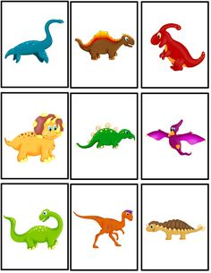 Preschool Powol Packets: {FREE} Dinosaur Matching Packet!!