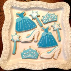12 Cinderella fairy tale princess cookies by chast8888 on Etsy. , via Etsy.