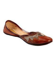 Ta Chic Brown Flat Punjabi Jutti, http://www.snapdeal.com/product/ta-chic-brown-flat-punjabi/1520119478