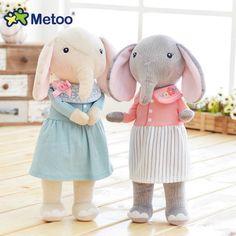 Asli metoo angela hutan beruntung gajah lucu manis mainan mewah boneka pasangan boneka generasi angela Mewah Mainan Untuk Anak-anak metoo