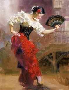 Spanish+Art | 26 x 20 Giclée on Canvas