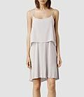 Femme Fade Dress layers (Stone/Ash) | ALLSAINTS.com #dress #women #covetme