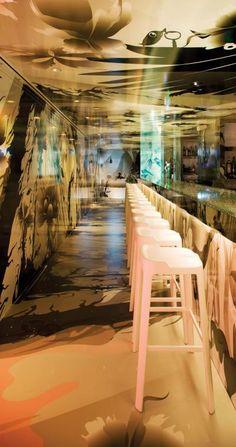 Crystal Bar, Hong Kong designed by Katrín Ólina