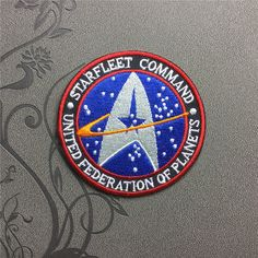 Star Trek patch Individuality Hat patches bag patch Embroidered Iron-On Patches sew on patches