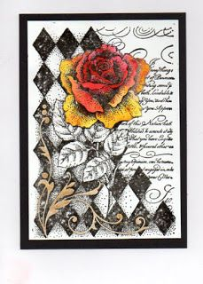 Today I am sharing some of the samples from last week's great tv show, I thought the set looked fabulous, hope you did too! Art Trading Cards, Baroque Design, Mixed Media Art, Projects To Try, Card Making, Greeting Cards, Ink, Crafty, Card Ideas
