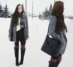 Winter outfit inspiration. Details of pieces on the blog: http://www.flattery.ca