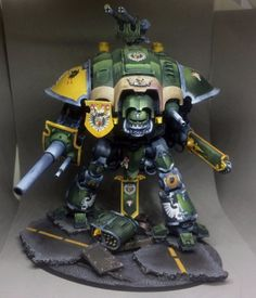 Imperial Knight  Warhammer 40k Pro painted