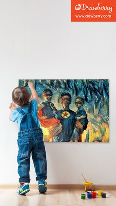 Custom family painting: get your cherished memories on canvas. Best artists compete to paint from your photo. Family Painting, Cherished Memories, Best Artist, Canvas, Artwork, Tela, Work Of Art, Auguste Rodin Artwork, Canvases