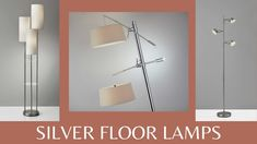 Silver Modern Floor Lamps Winding Willows Furniture Willow Furniture, Home Goods Decor, Home Decor, Modern Floor Lamps, Cool Stuff, Stuff To Buy, Flooring, Living Room, Lighting