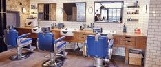 10 brilliant barber shops you need to know about Barber London, Barber Shop Interior, Best Barber, Metro Tiles, Table, Furniture, Shopping, Home Decor, Image