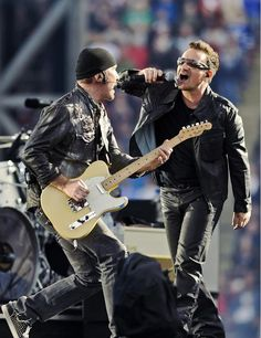 Bono and the Edge.