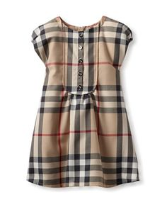 Burberry Kid's Classic Dress (Check)