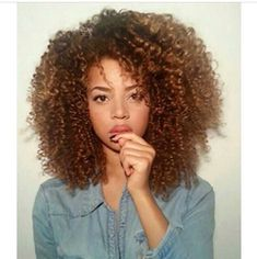 Big soft curls