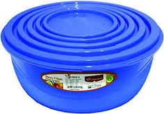 Image result for plastic bowl set with lids