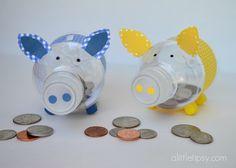 Bottle Piggy Banks