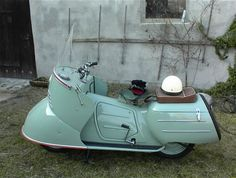 1952 Maico Mobil Scooter 175cc Single Cylinder Air-Cooled 9hp 2-Stroke Engine