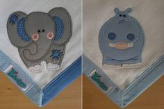 Kit Fralda de Boca com 02 unidades em tecido duplo (04 camadas para melhor absorção) 100% algodão com patch apliquée e bainha em tecido.  *As fraldinhas também podem ser personalizadas escolhendo o tema e a cor do tecido para montar o kit. R$ 24,90