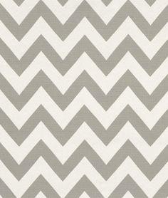 HGTV Chevron Chic Quartz Fabric - $21.75 | onlinefabricstore.net