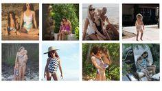 Mummy & Me Beachwear: The Designers - Bikinis and Bibs Bibs, Beachwear, Designers, Couple Photos, Stylish, Couples, Bikinis, Fashion, Couple Shots