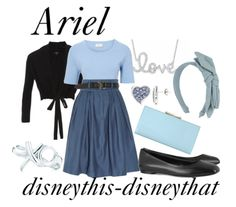 Disney inspired clothing by Disneythis-Disneythat. Ariel (blue dress).
