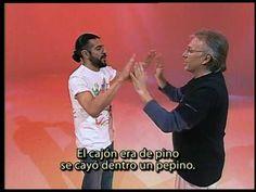 Hand clap game -- Rima de Don Pepito ---  Juego infantil grabada por Luis en el Canal 7 de Argentina