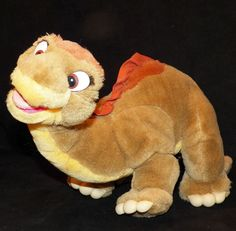 Vintage 1988 Little Foot Dinosaur Brontosaurus Land Before Time JC Penney 19 x 9 #JCPenney