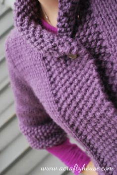 A Quick Knit for the Fall... Berrocos Nimbus Sweater - A Crafty House: Knitting and Crochet Patterns, Crafts and Printables
